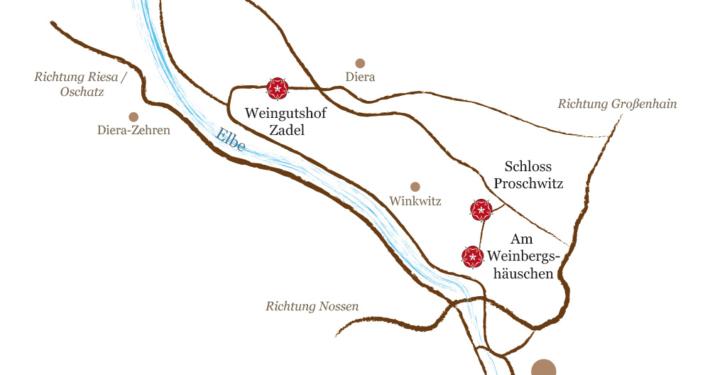 Anfahrt - Schloss Proschwitz