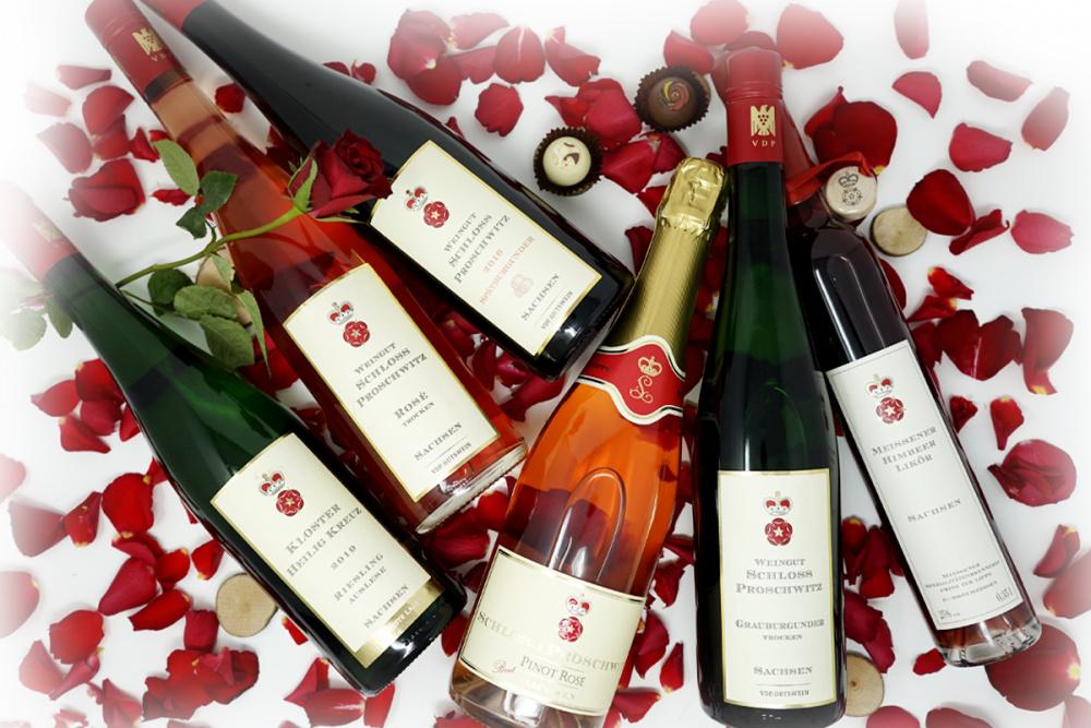 Valentinspaket Proschwitzer Weine